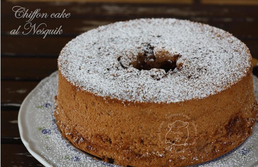chiffon cake nesquik cr
