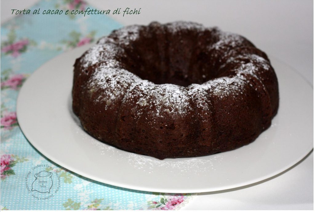 torta cacao e confettura