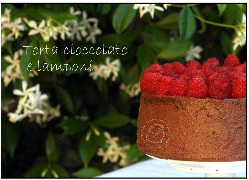 cioccolato e lamponi laterali